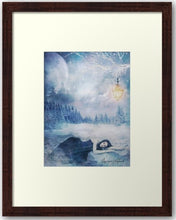 Load image into Gallery viewer, Winter Solitude...Framed Print - THE VINTAGE LOOK Henley-on-Thames