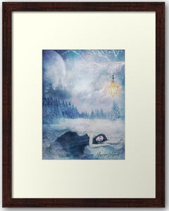Winter Solitude...Framed Print - THE VINTAGE LOOK Henley-on-Thames