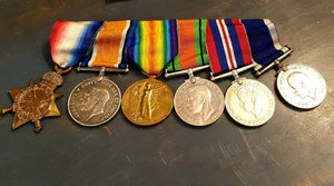 WWI / WWII East Kent Regiment Group of 6 Medals - THE VINTAGE LOOK Henley-on-Thames