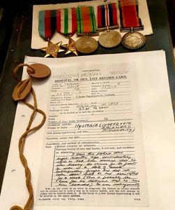 WWII South African Forces Group of 5 Medals + Paperwork - THE VINTAGE LOOK Henley-on-Thames