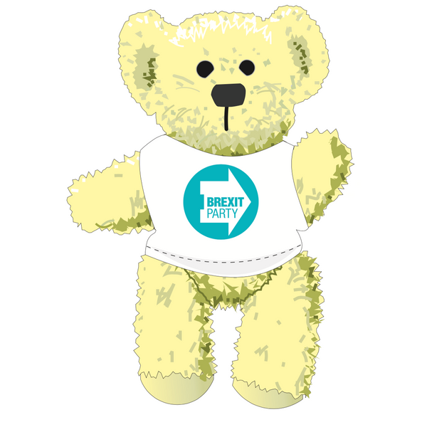 OFFICIAL Brexit Party Bear