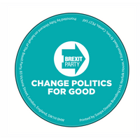 OFFICIAL Brexit Party Coaster
