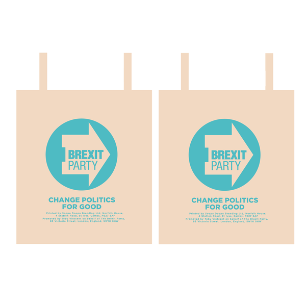 OFFICIAL Brexit Party Shopper Bag
