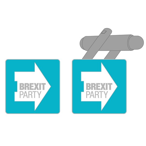 OFFICIAL Brexit Party Pair of Cufflinks