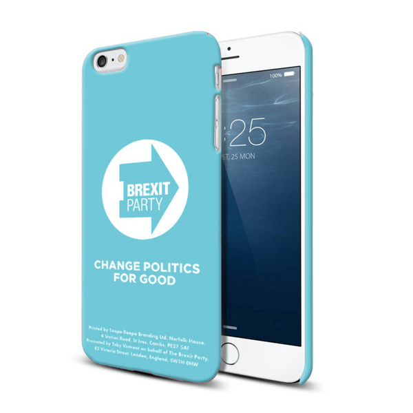 OFFICIAL Brexit Party HS iPhone Case