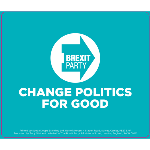 OFFICIAL Brexit Party Mousemat