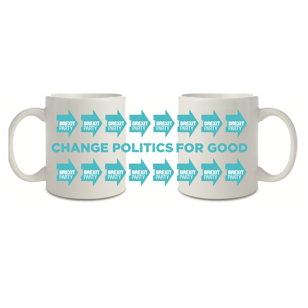 OFFICIAL Brexit Party Mug