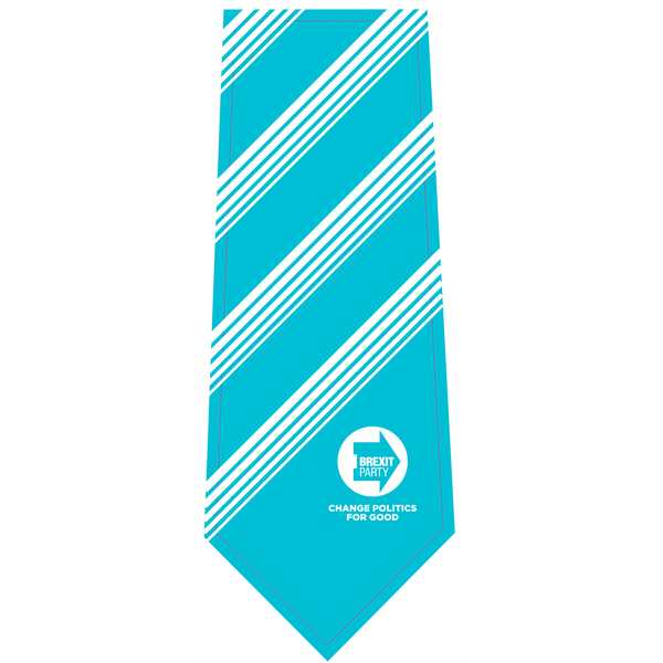 OFFICIAL Brexit Party Woven Polyester Tie