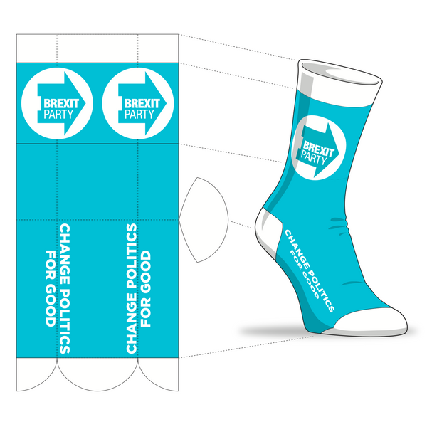 OFFICIAL Brexit Party Socks