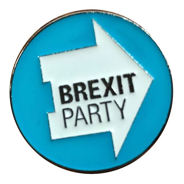OFFICIAL Brexit Party Soft Enamel Pin Badge