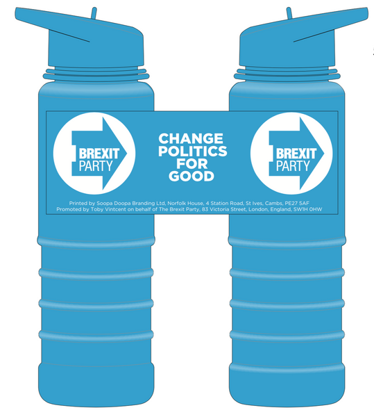 OFFICIAL Brexit Party Drinks Bottle