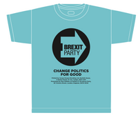 OFFICIAL Brexit Party Blue T-Shirt