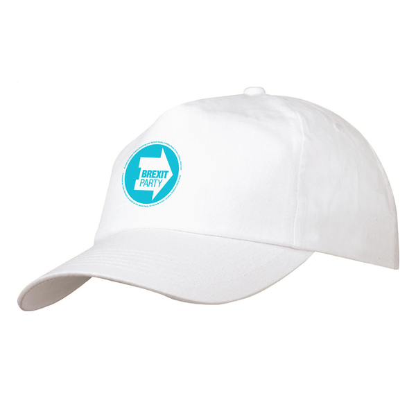 OFFICIAL Brexit Party White Cap
