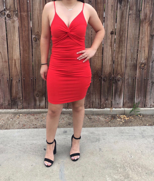 Gabby dress (red)