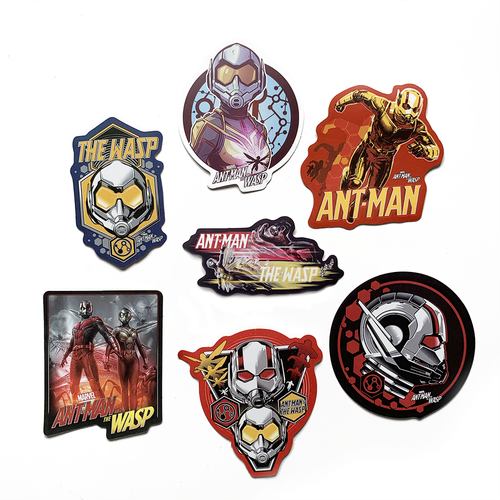 Stickers Marvel Ant-Man And The Wasp (lot de 7)