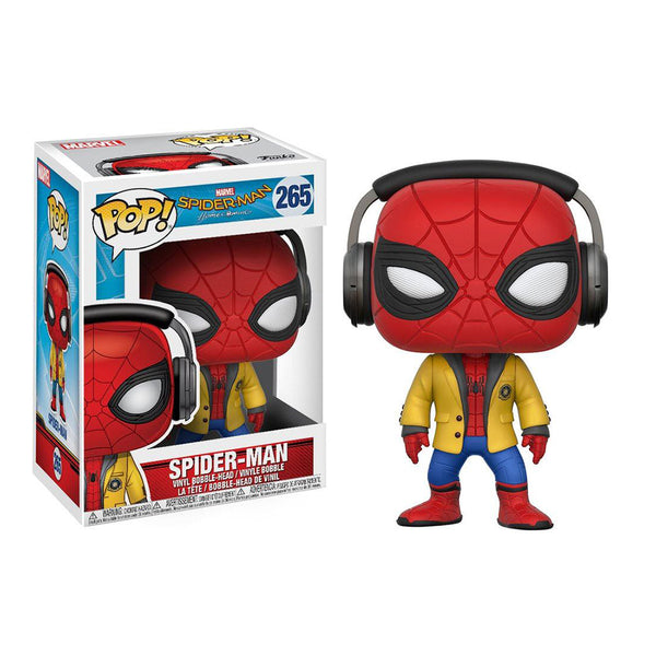 Spider-Man: Homecoming figurine POP! Marvel Spider-man (headphone) #265
