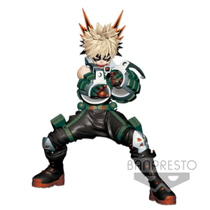 My Hero Academia statuette Enter The Hero Katsuki Bakugou