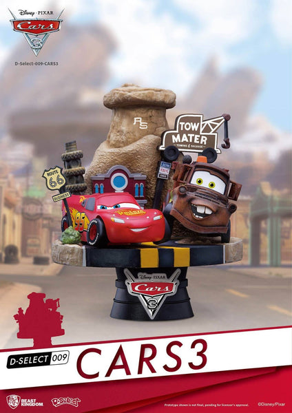Cars 3 diorama Disney / Pixar D-Select #009