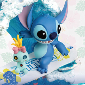 Stitch surf diorama D-Stage Disney Summer Series #030