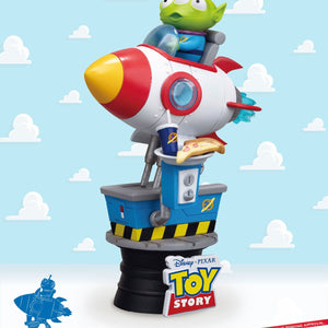 Toy Story diorama D-Stage Pixar Alien Coin Ride #036