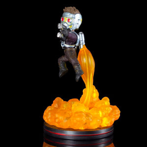 Gardiens de la galaxie diorama Marvel Q-Fig FX Star Lord
