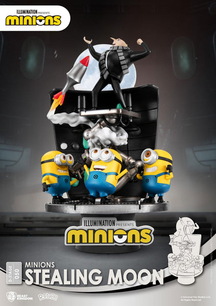 Diorama D-Stage Minions Stealing Moon #050