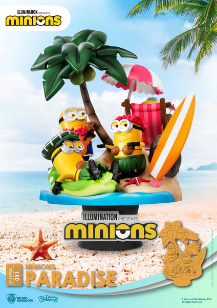 Diorama D-Stage Minions Paradise #051