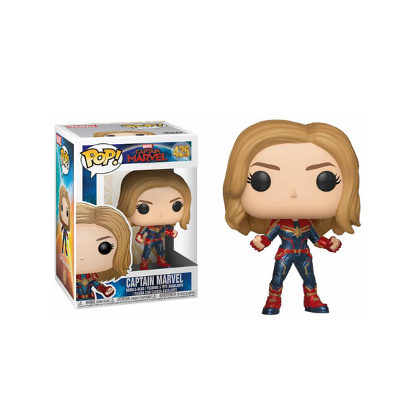 Captain Marvel figurine POP! Marvel #425 + Chase (EDITION LIMITEE)