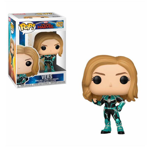 Captain Marvel figurine POP! Marvel Vers #427