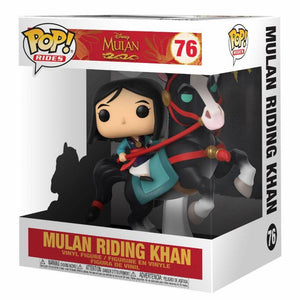 Mulan figurine POP! Rides Disney Mulan riding Khan #76