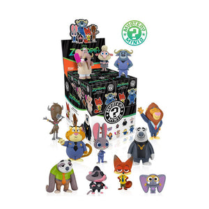 Zootopia figurines Mystery minis Disney - Set complet