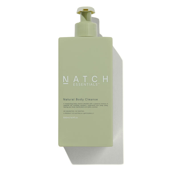 Natch Essentials natural body wash