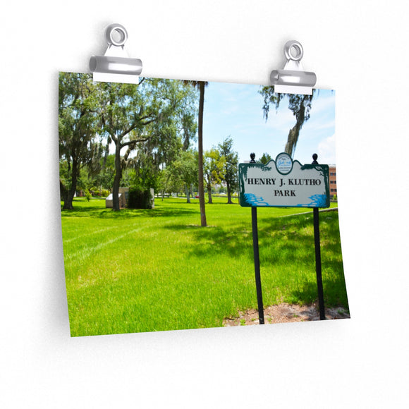 Klutho Park Photo Print Poster