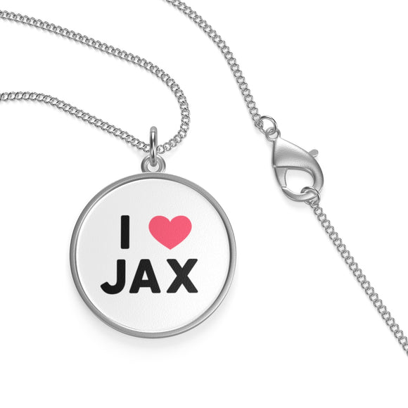 I LOVE JAX Single Loop Necklace