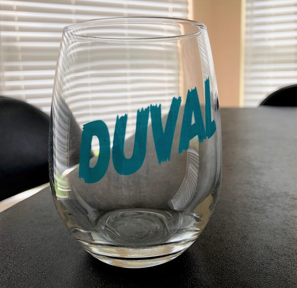 DUVAL Stemless Wine Glass