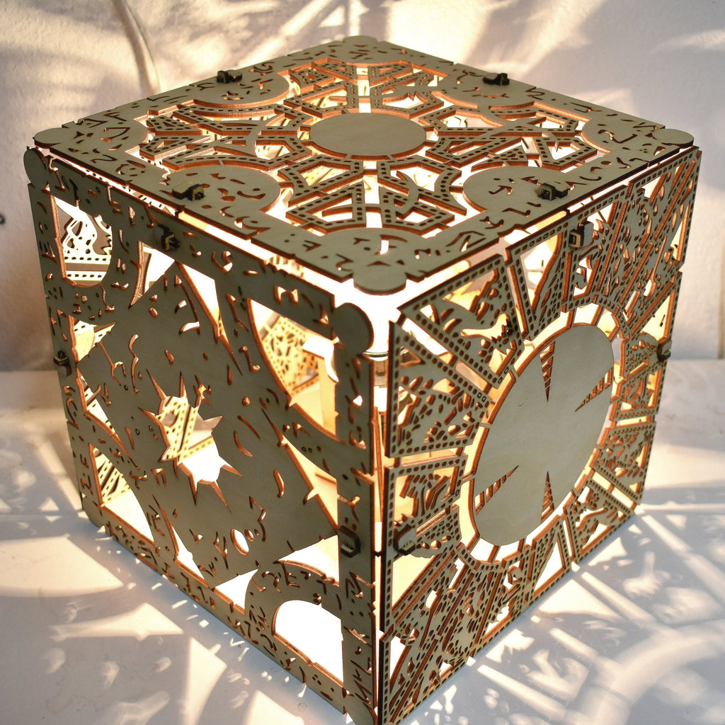 Hellraiser Puzzle Box - Desk Lamp