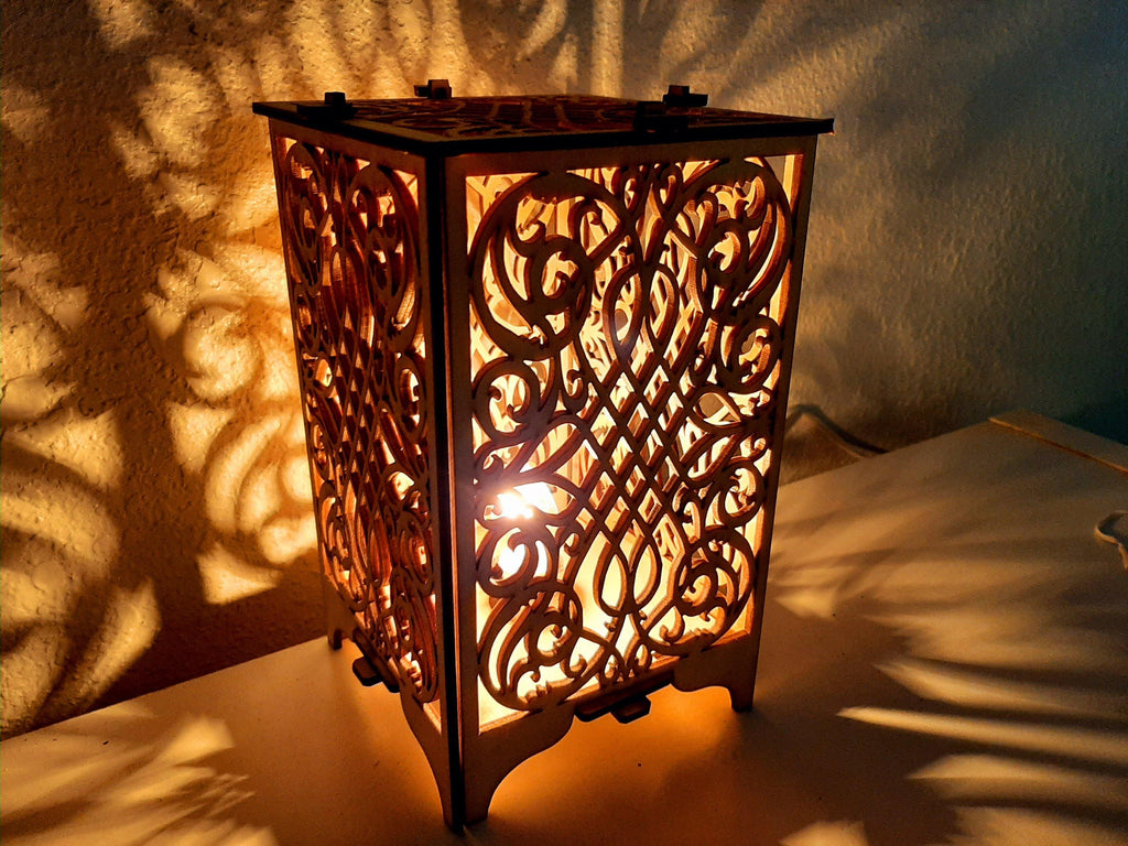 Royal Wood Table Lamp