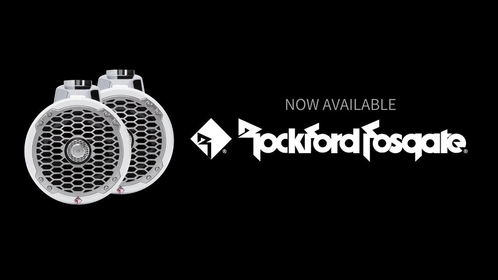WELCOME ROCKFORD FOSGATE MARINE AUDIO