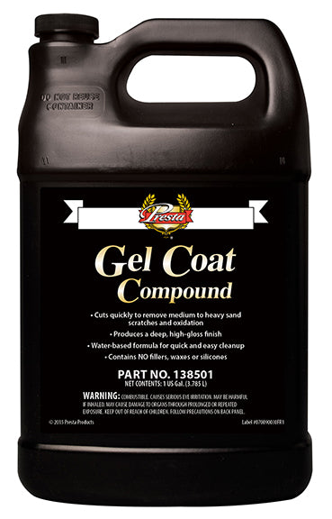 Presta - Gel Coat Compound