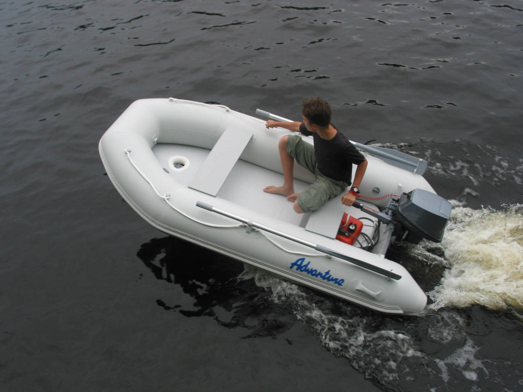 Aurora Inflatable Boat - Air Deck 330 Fully Welded Construction