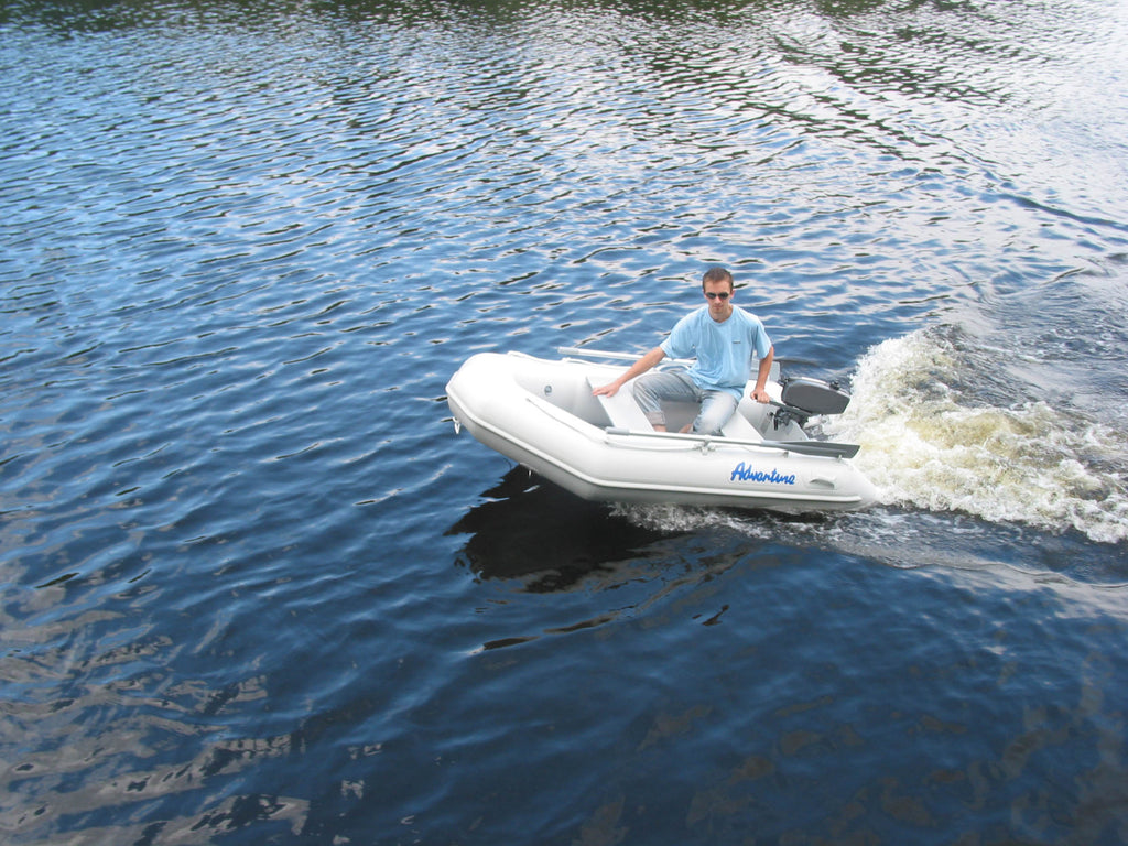 Aurora Inflatable Boat - Slatted Floor 200 Fully Welded Construction