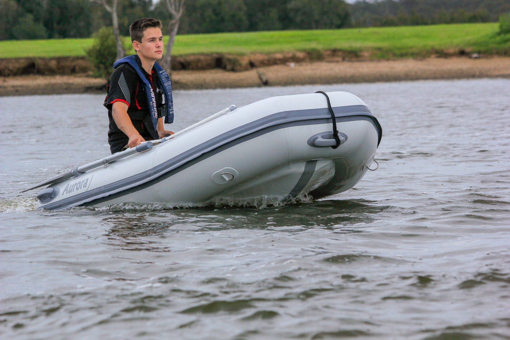Aurora Inflatable Boat - Slatted Floor 240 Fully Welded Construction