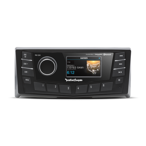 "Rockford Fosgate - PMX5-Can (Punch Marine AM/FM/WB Digital Media Receiver 2.7"" Display w/ CAN bus)"