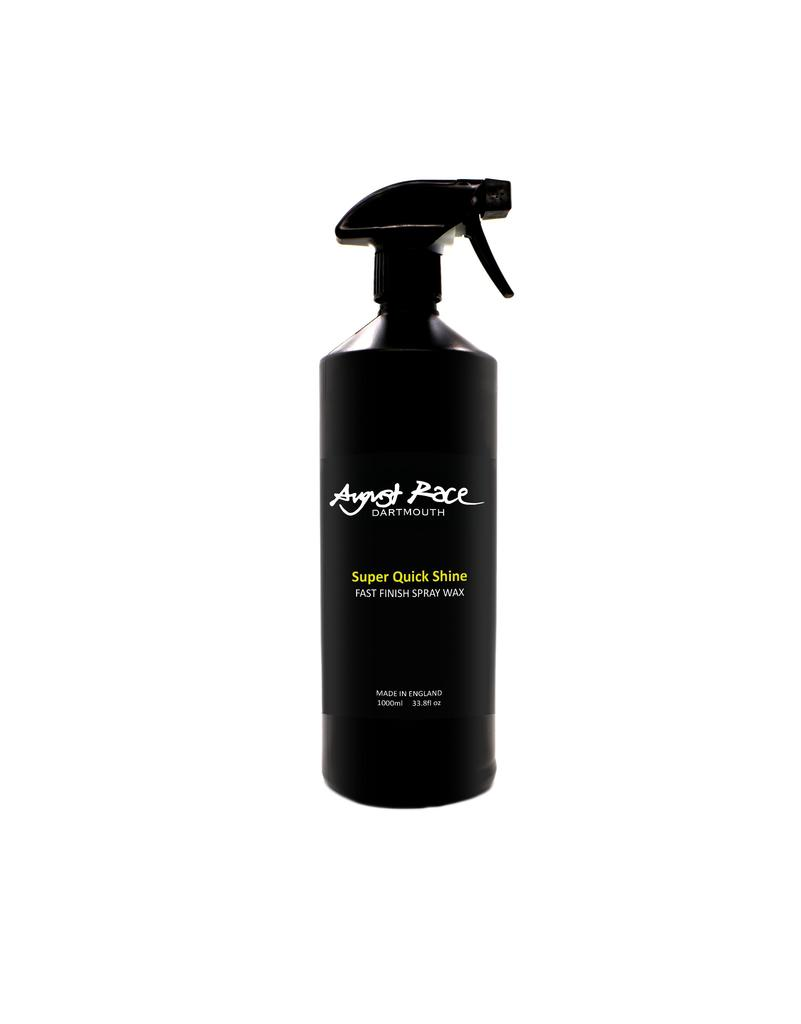 August Race - SUPER QUICK SHINE - FAST VALET SPRAY WAX 1L
