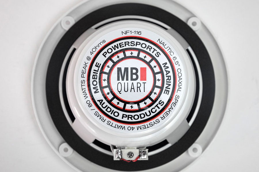 MB Quart - NF1-116 Nautic Speakers 6.5inch (White)