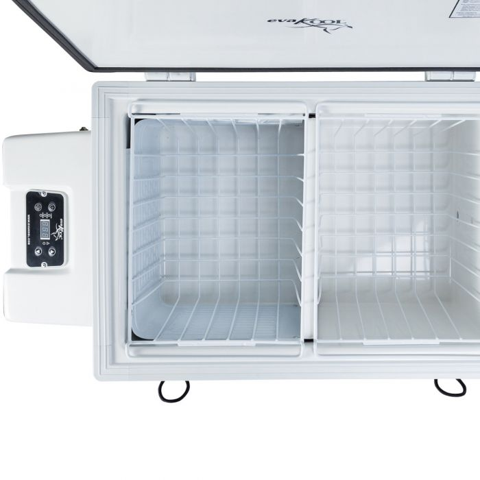 EvaKool - 85 Litre Fibreglass fridge freezer