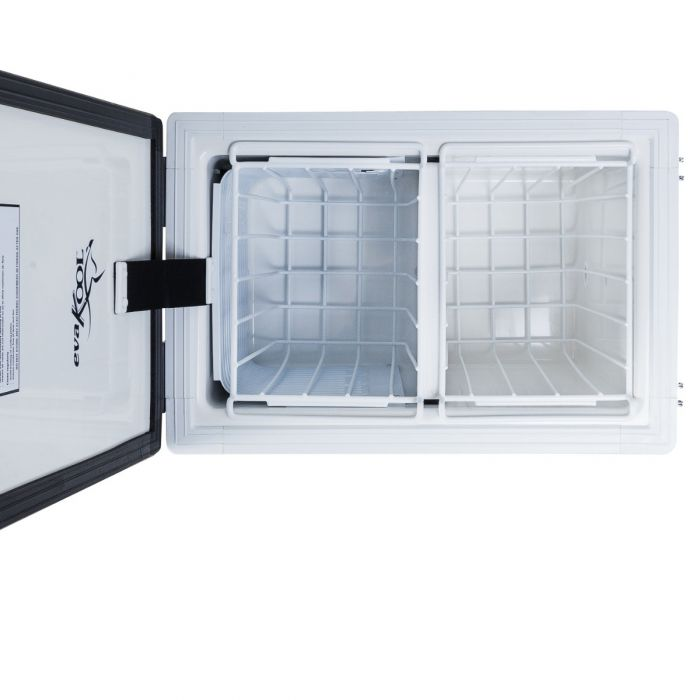EvaKool - 60 Litre Fibreglass fridge freezer