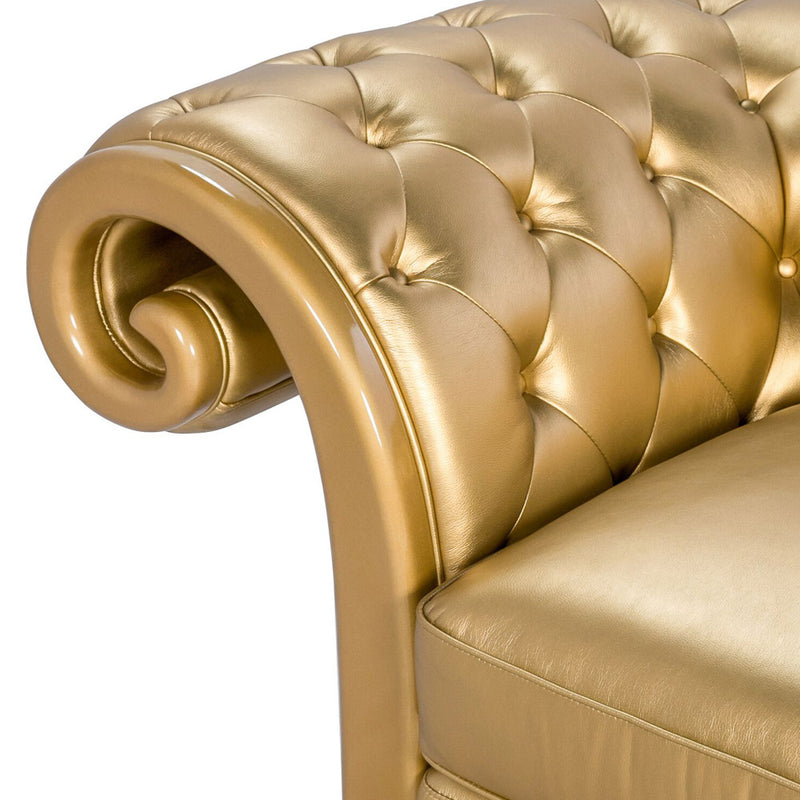 LA GOLD LOVESEAT