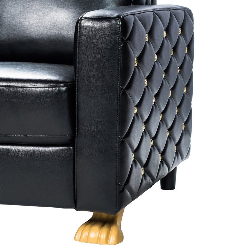 CLAW OF THE LION CHAIR - BLACK