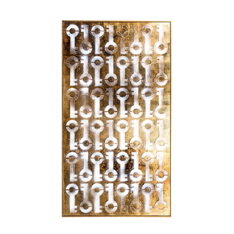 MAJOR KEY BAR TABLE - GOLD